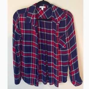 GB Plaid Button Down
